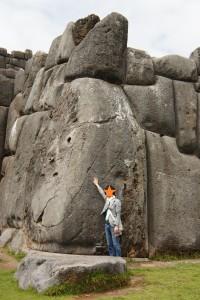 1つ1つの石が巨大!