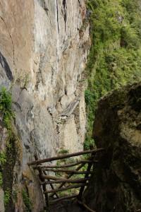 インカの橋(中央)