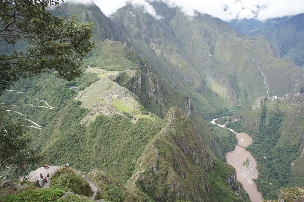 山頂(付近)からの眺め